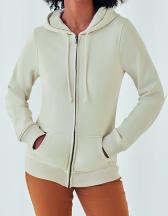 Organic Zipped Hood Jacket /Women